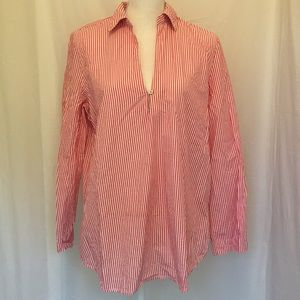 *Final* Guess Blouse Red White Stripes size Large